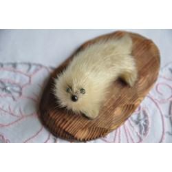 Inuit Stuffed Seal Skin Seal Pup Figurine