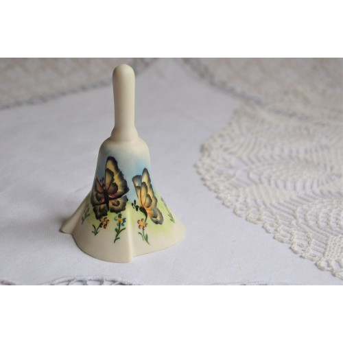 Bisque Porcelain Mount Rushmore Souvenir Bell