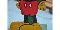 Porte-chapeau d'enfant Mickey Mouse vintage