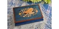 Vintage Inlay Sorrento Italian Music Box