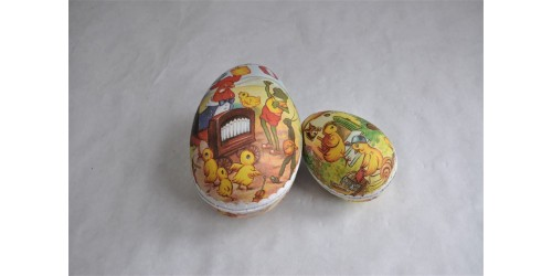 Cardboard Egg Shaped Chocolate Easter Boxes