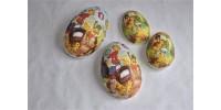 Boîtes à chocolat de Pâques en forme d'œufs