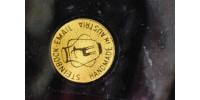 Plat en émail sur cuivre Steinbock Austria