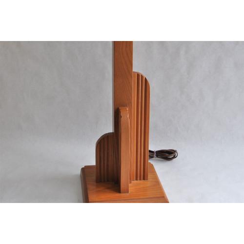 Lampe de table d'époque art déco style skyscraper
