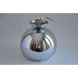 Vintage 1960-1970 Chrome Eyeball Pendant Lamp