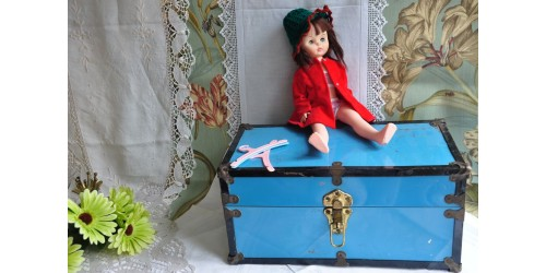 Doll Trunk with Allied Eastern Doll