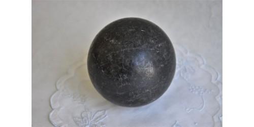 Boule de croquet ou de pétanque anglaise vintage