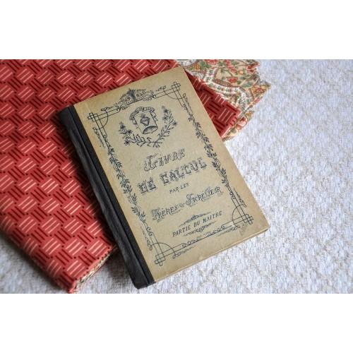 Livre de calcul, partie du maître, 1911