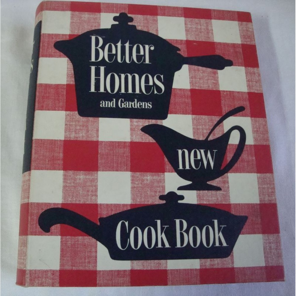 Better Homes And Gardens New Cook Book 1953 1st Edition Cooking