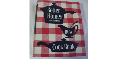 Livre de recettes Better Homes and Gardens 1953 1re édition