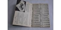 Recettes et calendrier Farine Brodie 1945-1948