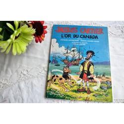 Comic Book Jacques Cartier L'or du Canada