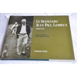 Livre Le silenciaire J.P. Lemieux chez lui