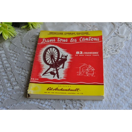 French-Canadian Folkloric Songs Repertoire