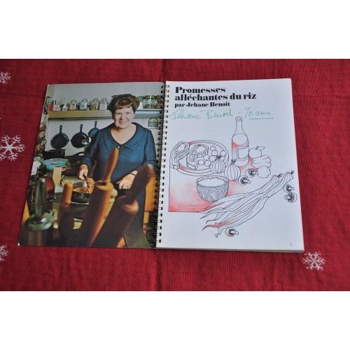 BENOIT Jehane Dainty Foods Rice Recipes Booklet