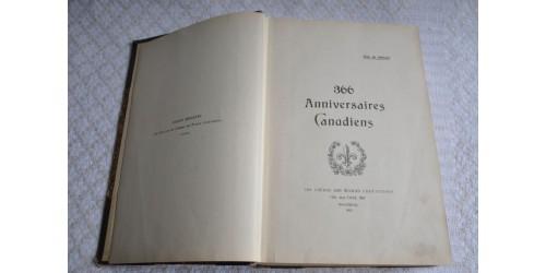366 Anniversaires Canadiens, 1930
