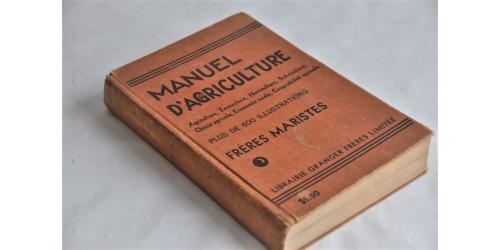 Frères Maristes, Manuel d'agriculture 1942