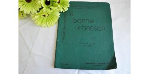La Bonne Chanson, 3e album, 1938