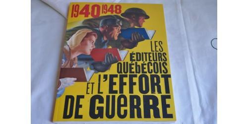 Les éditeurs québécois et l'effort de guerre
