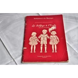Cahier d'enseignement du solfège aux petits