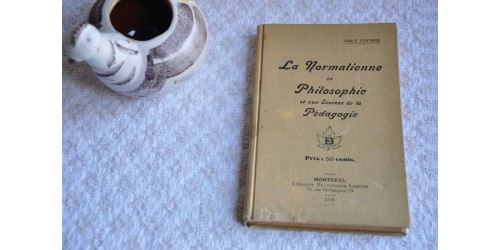 La normalienne en philosophie et aux sources de la pédagogie
