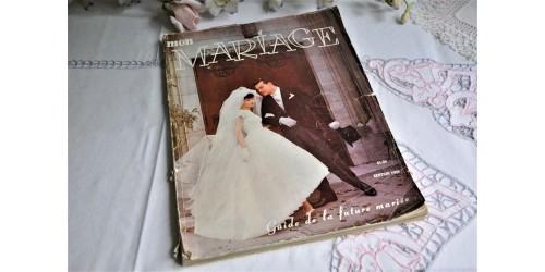 Revue « Mon mariage » Québec, édition 1959