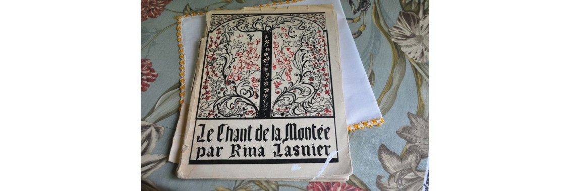 Livre de poésie de Rina Lasnier