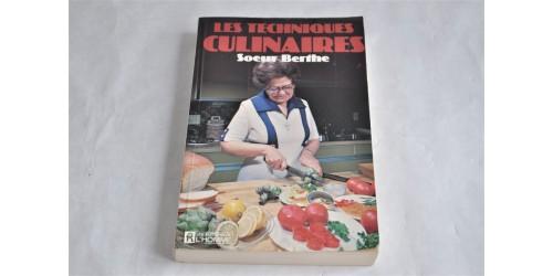 Soeur Berthe : Les techniques culinaires
