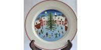 Assiette à décor de Noël Villeroy & Boch