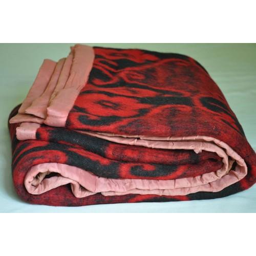 Antique Heavy Wool Cottage Blanket