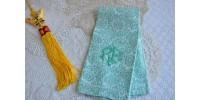 Antique Damask Jacquard Woven Hand Towel