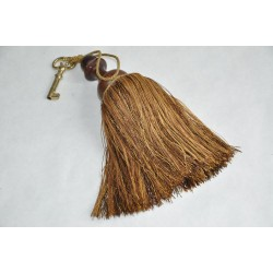 Large Vintage Passementerie Pompom or Key Tassel
