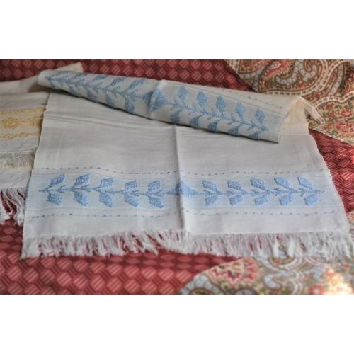 Vintage Hand Woven 1970's Tea Towel