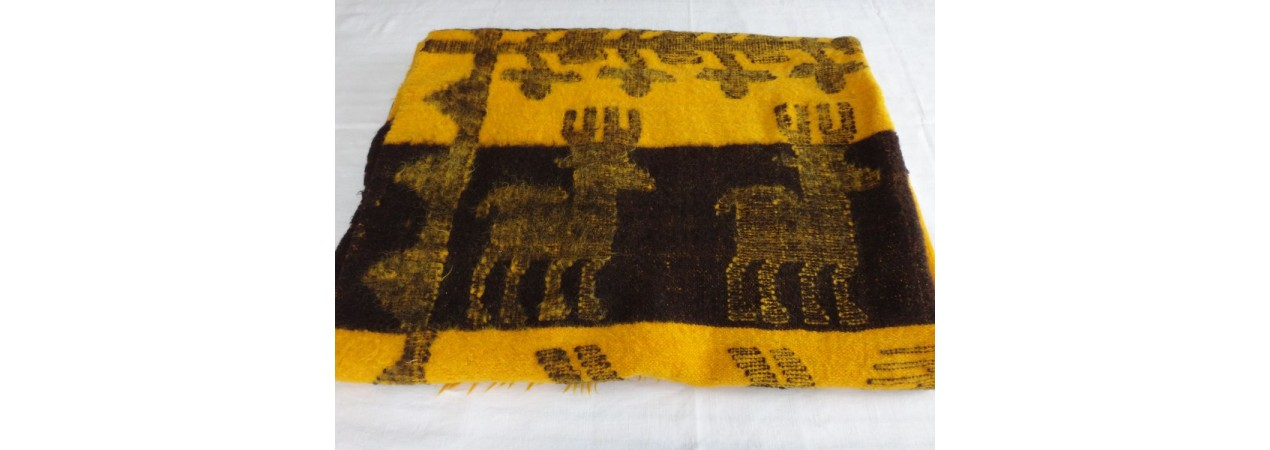 Black and Yellow Blanket