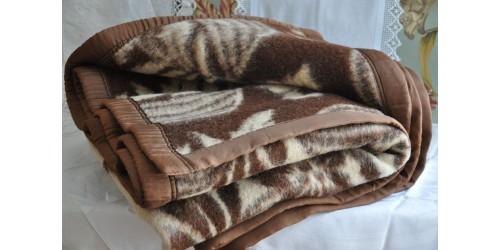 Heavy Thick Wool Vintage Camp Blanket