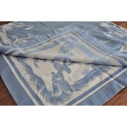 Vintage Reversible Double Damask Tablecloth