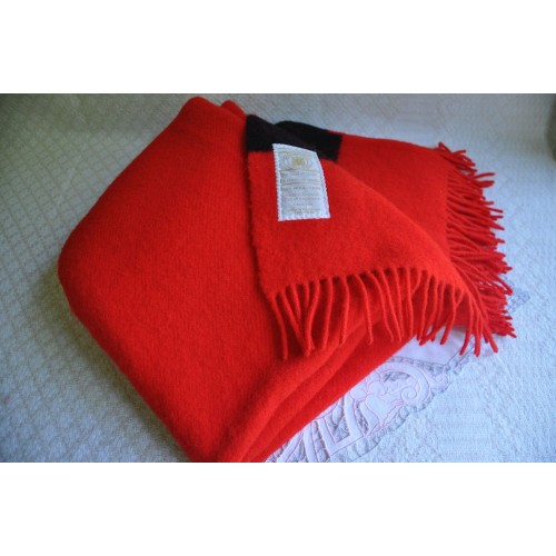 Hudson's Bay Company Caribou Throw Scarlet