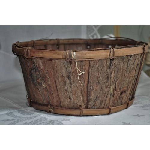 Vintage Aboriginal Bark Basket