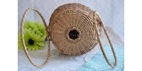 Canadian Native Woven Splint Ash Sewing Basket