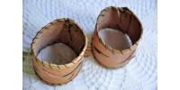 Ronds de serviette à piquants de porc épic