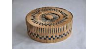 Panier à couture en bambou d'origine japonaise