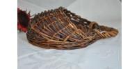 Panier à suspendre en branchettes de saule