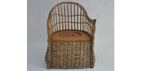Victorian Child Wicker Potty Chair