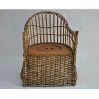 Victorian Child Wicker Potty Chair