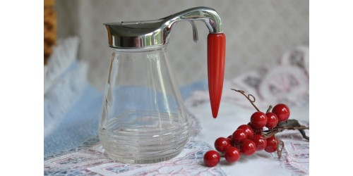 Androck Canada Bullet Handle Syrup Bottle