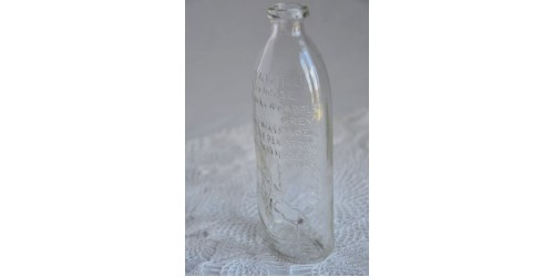 Biberon ancien Dominion Glass Nursery Rhyme