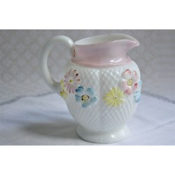 Antique Cosmos Pattern Creamer by Consolidated