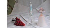 Clochettes de table en verre de collection