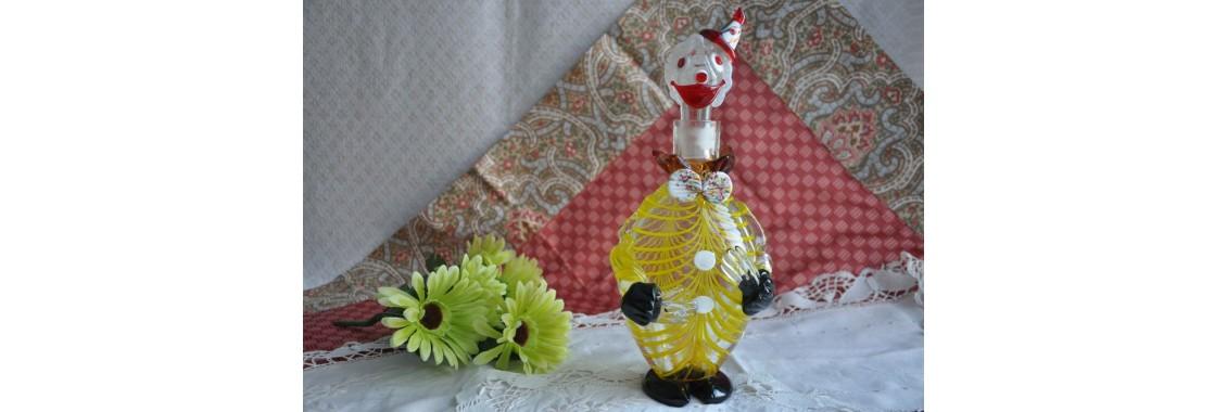 Carafe clown de Murano