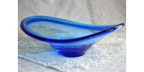 Coupe bleue de Per Lütken pour Holmegaard